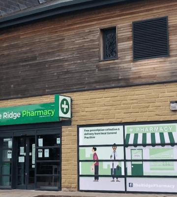 The Ridge Pharmacy Bradford exterior